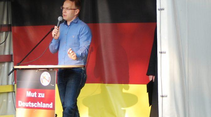 AfD-Funktionär Christian Blex bejubelt Jair Bolsonaro