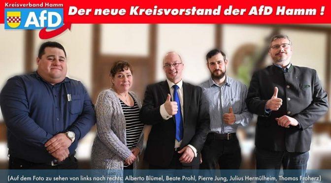 Extrem rechter Polizeibeamter aus Hamm ist stellvertretender Kreissprecher der AfD