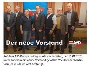 Vorstand AfD KV Münster 2020